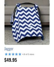 Blue And White Jagger Canoupy Couture