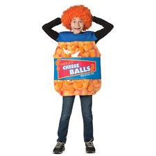 Child Cheese Balls Snack Food Costume
