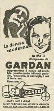 W3662 Bayer - Compresse GARDEN - Pubblicità 1935 - Advertising