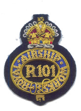 Royal Airship Works Zeppelin Dirigible Blimp RAF Cardington Hat Cap Patch Badge