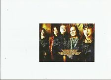 German Rock Band BONFIRE signed 4 x 6 Photograph-Signed by all!!