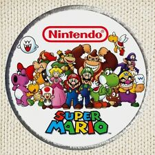 Super Mario Bros Patch Picture Embroidered NES Nintendo Characters Luigi Yoshi