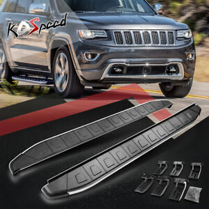 """5.75"""" W Aluminum Side Step Nerf Bar Running Boards for 11-18 Jeep Grand Cherokee"""