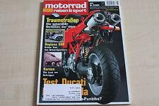 164799) Triumph Daytona 600 im TEST - Motorrad Reisen Sport 06/2003