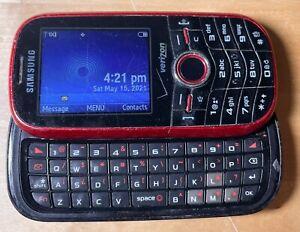 Samsung Intensity SCH-U450 - 128 MB - Red (Verizon) Cellular Phone - FAST SHIP!