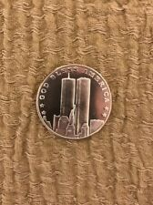 Twin Towers 1 Troy Ounce Of .999 Sept. 11 2001 Commemorative Coin