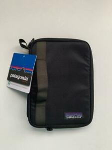 Patagonia Kindle Book Case Black Padded Zip Tablet Pouch Carrier NEW $40