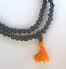 Tibetan Buddhist Rosewood Meditation Mala 8mm Bead Necklace USA SELLER