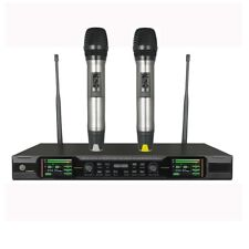 Microphone Karaoke True Diversity Professional Wireless Mic Stage TFT Display