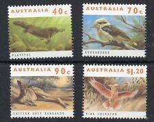 AUSTRALIA STAMPS 1993 THREATENED ANIMALS MINT NEVER HINGED