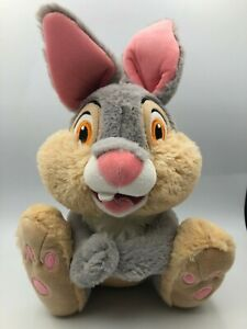 Official Disney Bambi Thumper Grey Bunny Rabbit Plush Kids Stuffed Toy Animal