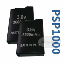 2X 3600mah Replacement Battery for Sony PSP 1000 1001 1002 1003 1004 1005 1006