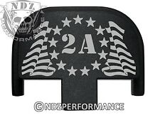 Rear Slide Plate for Smith Wesson S&W SD9 SD40 VE 9mm 40BK 2A 13 Stars Flag