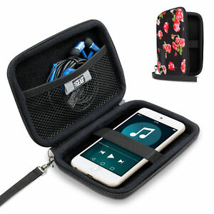 USA GEAR Protective Hard Shell Carrying Case for iPod Touch and MP3 Players