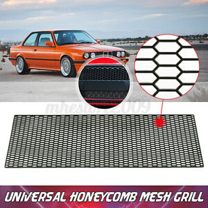"""3D ABS Plastic Racing Honeycomb Bumper Vent 47"""" x 16"""" Tuning Grill Mesh Spoiler"""