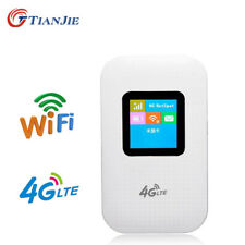 Portable 4G LTE Wifi Router Mobile Modem 150Mbps Hotspot SIM Card Slot Unlocked