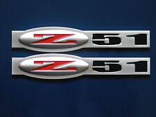 Chevrolet C5 Corvette Z51 Suspension Fender Badge Pair (2 colors)
