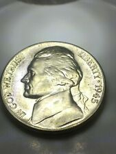 1945 D War Nickel 35% Silver BU***