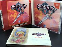 Grandia II w/original CD (Sega Dreamcast, 2000) from japan #2101