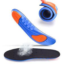 2x Einlegesohlen Arbeitsschuhe Schuheinlagen Gel-Einlagen Fußbett  Schuhe Sport