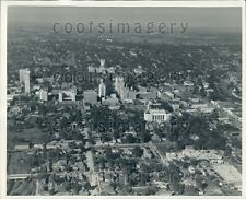 Aerial Jackson Mississippi Press Photo