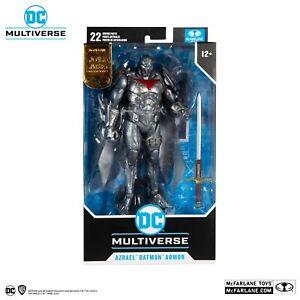 DC Multiverse Azrael Batman Armor Silver Edition Gold Label - McFarlane Toys