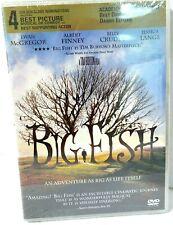 Big Fish Dvd 2004 Wide Screen Ewan McGregor Albert Finney Billy Crudup Sealed