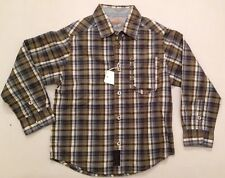 TIMBERLAND BOYS CHECK SHIRT SLIGHT DAMAGE ON ARM REPAIRABLE 6  RRP £44 NOW £10