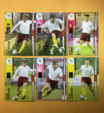DAVID BECKHAM-WAYNE ROONEY World Cup Germany 2006 PANINI  England *UK TEAM SET *