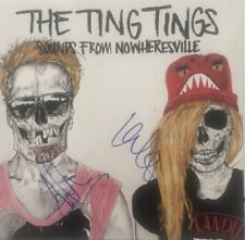 Autographed The Ting Tings signed Vinyl LP