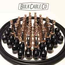 GEORGE L's PEDAL BOARD KIT - 16 PATCH CABLES - 16' OF CABLE - 32 PLUGS - 32 CAPS
