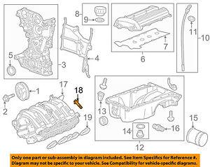 Cadillac GM OEM 14-16 ELR Engine Parts-Intake Manifold Bolt 55573210