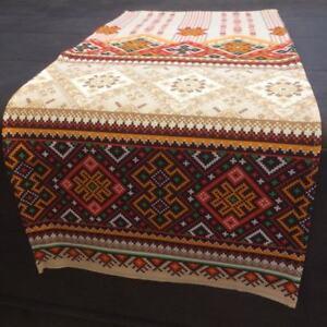 "Linen towel ""Ornament"" 75 х 33 см -  рушник - Easter Deco"
