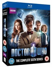 Doctor Who The New Series Complete Season 6 Blu Ray Sci-Fi TV Series Region B
