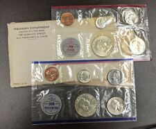 1962 P&D Uncirculated Silver Flat Pack 10-Coin US Mint Set