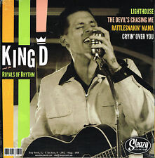 """KING D & THE ROYALS OF RHYTHM and THE NEW ATTENTION (shared 10"""" Vinyl LP) R'N'R"""