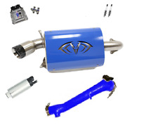 Evolution Powersports Evo Stage 5R ECU Flash Blue Magnum Exhaust RZR XP TURBO