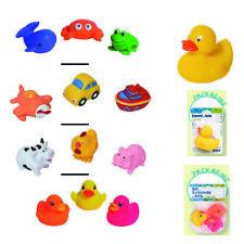 Set of 3 Non-Toxic Floating Bath Toys, sea animals, cars, farm