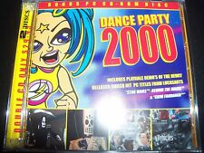 Dance Party 2000 Various 2 CD JT Playaz N-trance Cappella 2 Unlimited Faithless