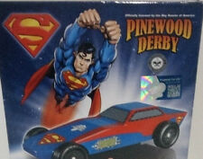 REVELL BOY SCOUTS-Pinewood Derby Racer Series car kit--SUPERMAN--New in box!