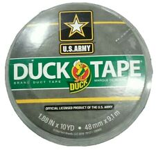 "1 Roll Official US Army Digital CAMO PREMIUM DUCK Brand Duct Tape 1.88"" x 10yd"