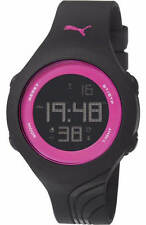 Women's Puma Twist S Black And Pink Digital Watch PU911092011