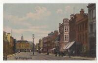 High Wycombe High Street Buckinghamshire pre 1914 Postcard 123c