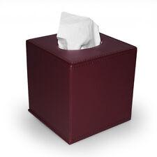 Kosmetiktuchbox Taschentuchbox PU-Leder rotbraun Fuchs Tissuebox Kleenexbox