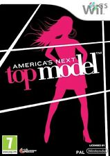 America's Next Top Model Nintendo Wii * Nuevo Sellado Pal *
