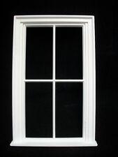 Window: Victorian 4 Pane Large Window Jacksons Miniatures plastic 1/12 scale B12