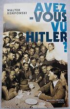 Avez-vous vu Hitler ? (NEUF)------------