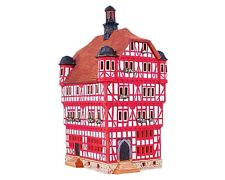 Ceramic Tealight Candle Holder Town Hall in Melsungen 26 cm © Midene