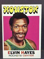 1971 Topps #120 Elvin Hayes EX Houston Rockets HOF