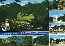 Alte Postkarte - Luftkurort Kreuth bei Tegernsee